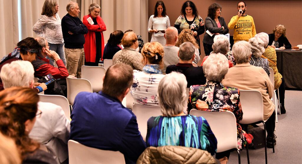Foto van VBV bijeenkomst.