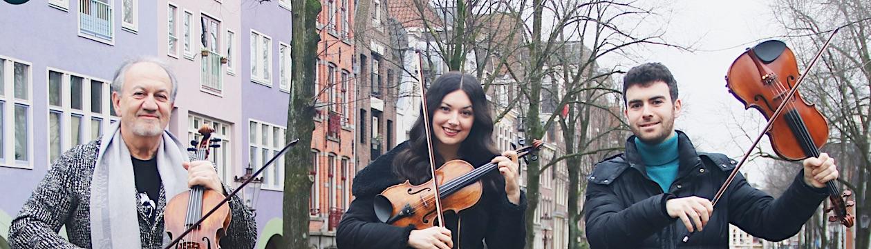 Trio Rusanovsky, concert - Amsterdam