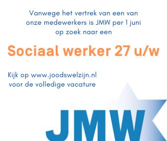 Banner vacature sociaal werker JMW.